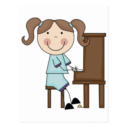 Girl Playing Piano Clip Art - Bing images