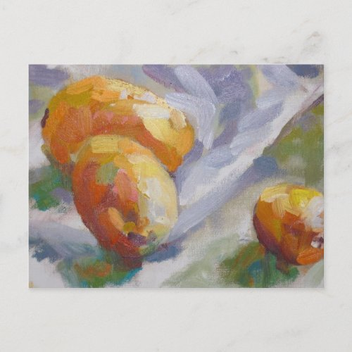 Still life with Kumquats postcard