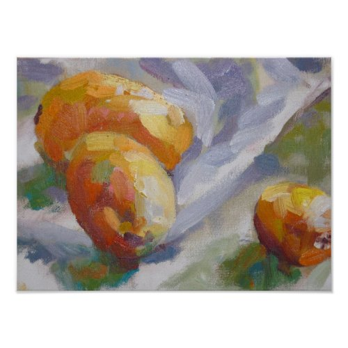 Still life with Kumquats print