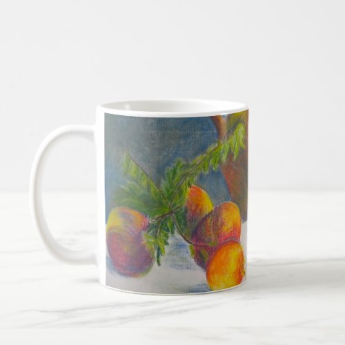 Still Life with Scattered Fruit mug