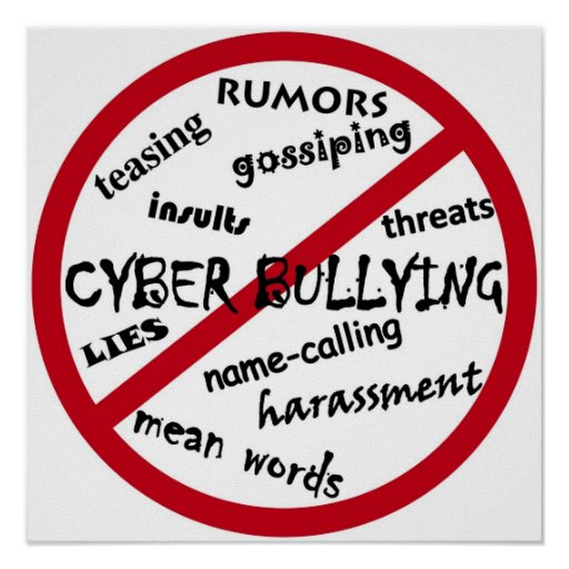 Cyber Bullying Quotes: Stop Cyber Bullying Poster