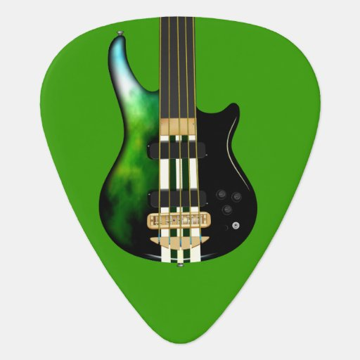 storm five string electric bass guitar pick zazzle. Black Bedroom Furniture Sets. Home Design Ideas