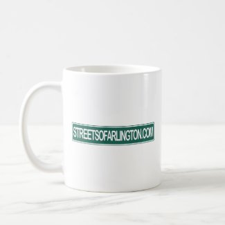 Streets of Arlington Don't Drink & Drive mug
