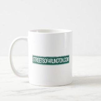 Streets of Arlington Don't Drink & Drive mug