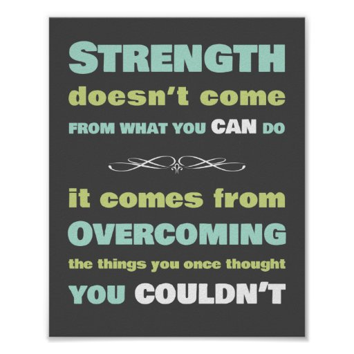 Strength Motivational Quotes: Strength Motivational Quote Posters