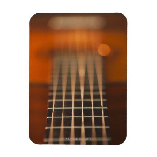strings of acoustic guitar vinyl magnet zazzle. Black Bedroom Furniture Sets. Home Design Ideas