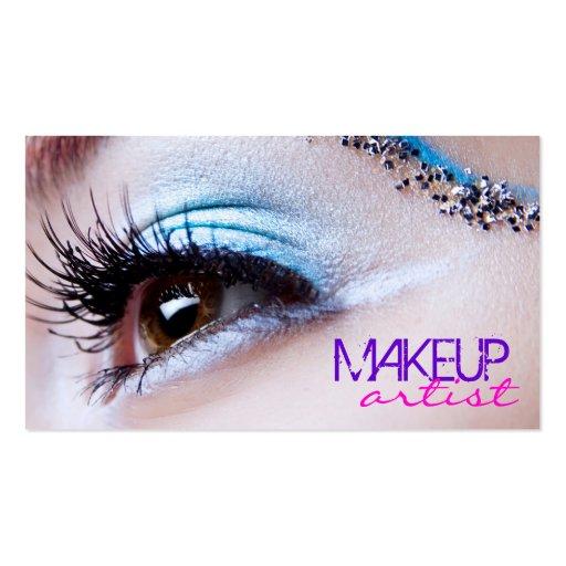 3952e298380 Makeup artist business card template Business Card Templates ...