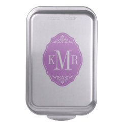 Personalized Cake Pans Pretty Pattern Gifts