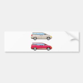 Minivans Bumper Stickers - Car Stickers | Zazzle