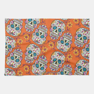 Skull Kitchen Towels   Zazzle