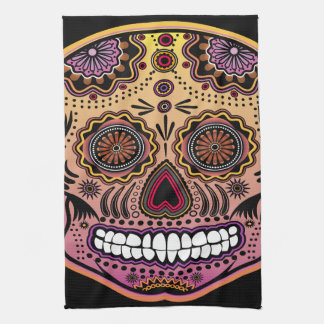 Day Of The Dead Kitchen Towels   Zazzle