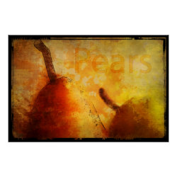 Sun kissed Pears Art Print print