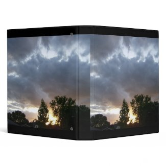Sunrise Along Ohio River Valley binder binder