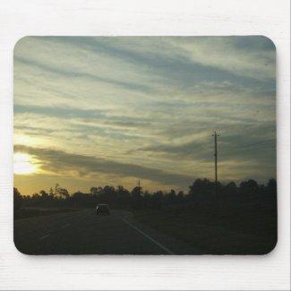 Sunrise Over North Carolina mousepad