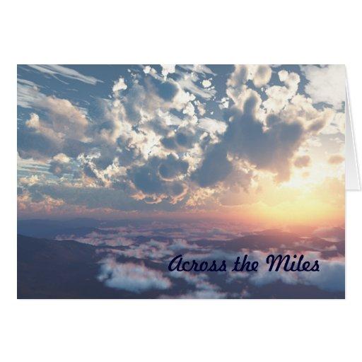 Happy Birthday! Across The Miles Greeting Card