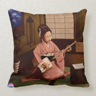 Suonatrice Pillow