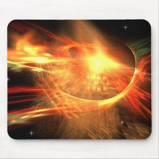 Supernova Fractal Mouse Pad | Zazzle
