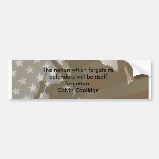 Persistence Motivational Quotes: Calvin Coolidge Bumper Stickers & Calvin Coolidge Bumper