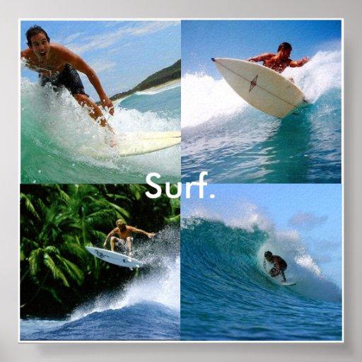 Surf For Life Print