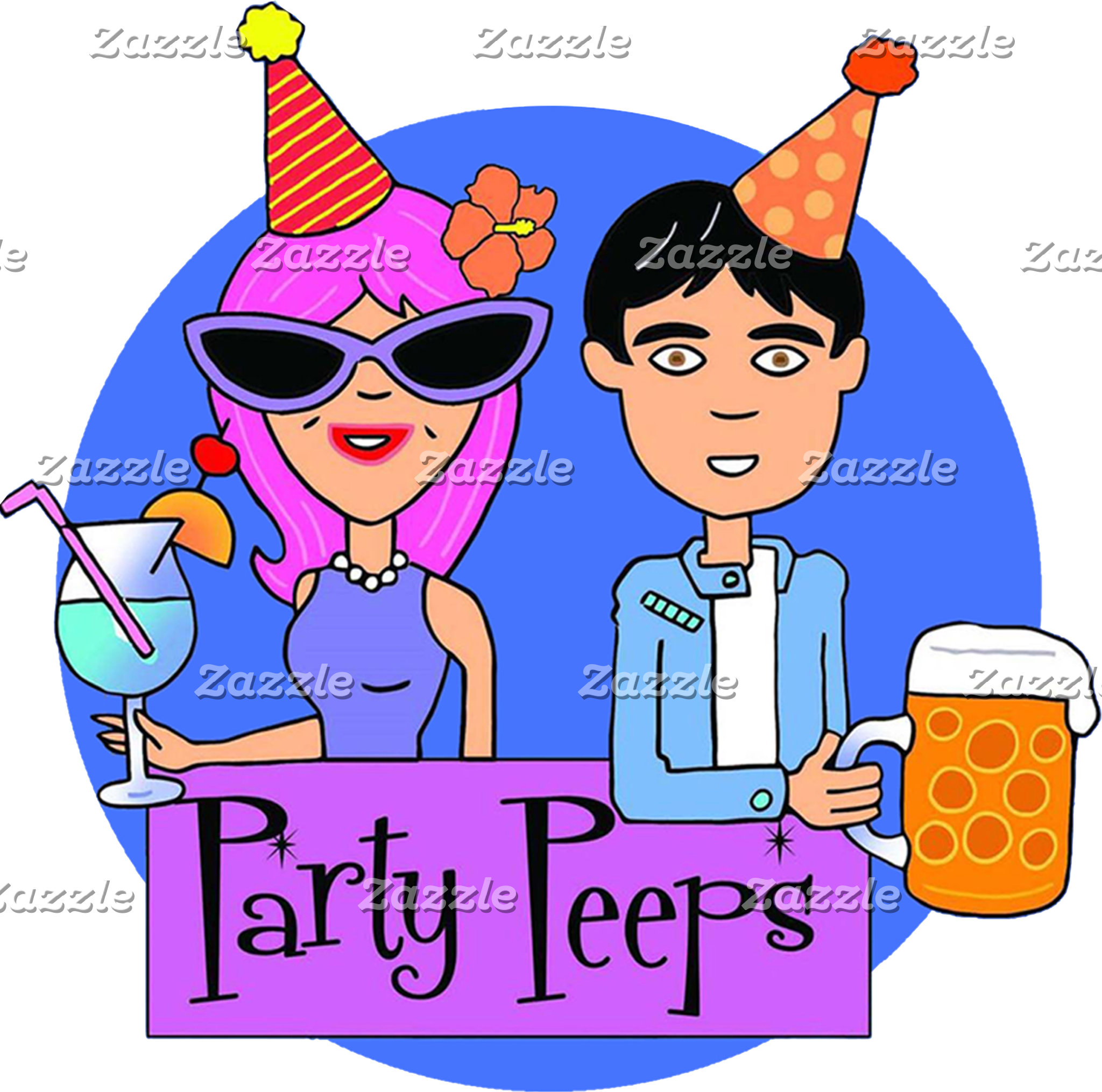 Visit Party Peeps on Zazzle