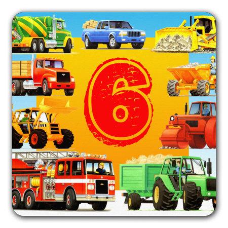 f2e51b0de boys 6th birthday truck party, 6th construction truck party invitations, kids  6th birthday construction