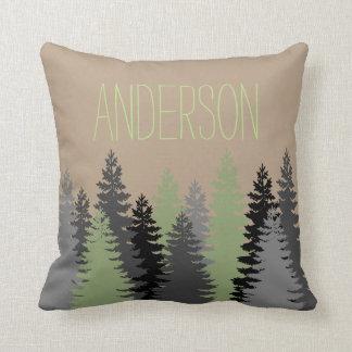 Pine Tree Pillows Decorative Amp Throw Pillows Zazzle