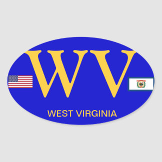 Wv Stickers   Zazzle