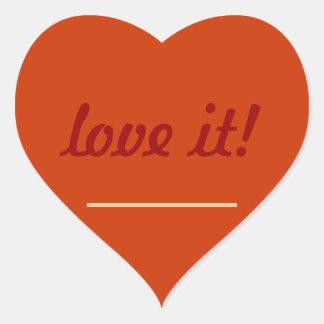 Facebook Love Stickers | Zazzle