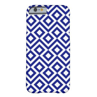 Blue and White Meander iPhone 6 Plus Tough Case