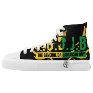 Jamaican Boy  High-Top Sneakers
