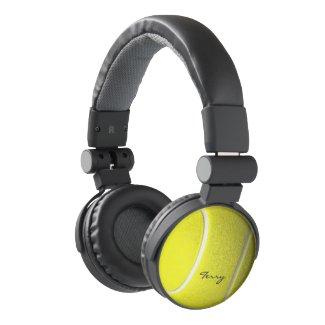 Tennis Ball Theme Name Headphones
