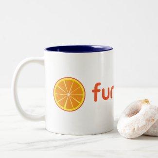 funkyfresh Two-Tone Coffee Mug