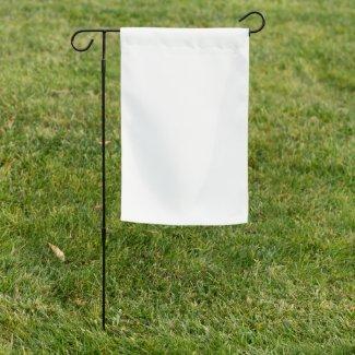 Garden Flag, custom design and words