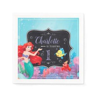 Ariel | The Little Mermaid - Chalkboard Napkins