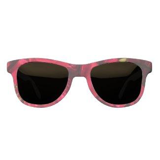 Red Roses Name Monogram Sunglasses