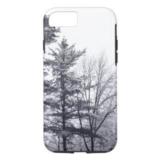 Snow-covered Trees: Vertical iPhone 7 Tough case