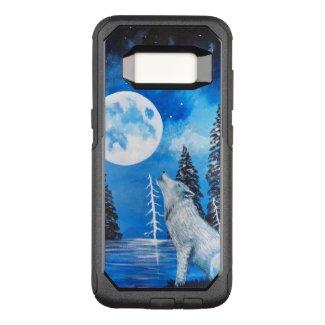 Wolf Moon OtterBox Commuter Samsung Galaxy S8 Case