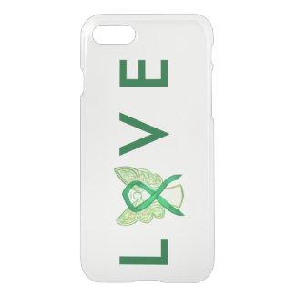 Green Awareness Angel Ribbon Custom iPhone 7 Case