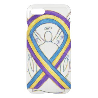 Bladder Cancer Awareness Ribbon iPhone 7 Case