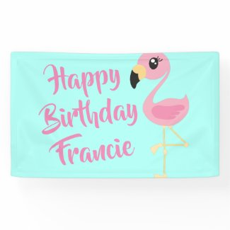 Pink Flamingo Tropical 1st Birthday Party Decor Ba