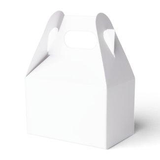 Paper Favor Box, Gable