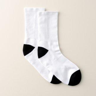 All-Over-Print Socks, Small (US Men 5-7 / US Women 5-9)
