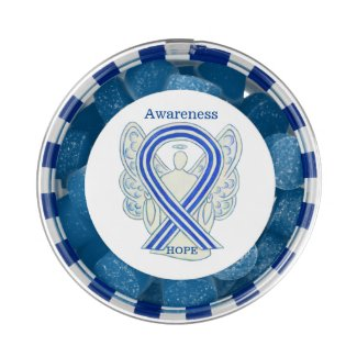 ALS Awareness Ribbon Angel Custom Gum Gifts