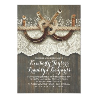Tie The Knot Wedding Invitation