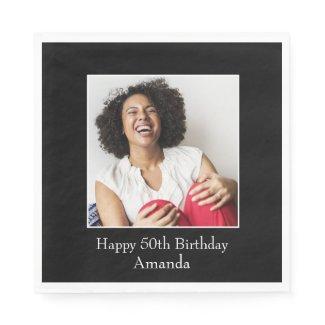 Photograph Frame, Custom Photo – Personalized Napkins