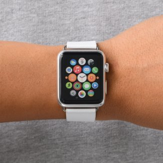 Pink Ribbon Apple Watch Band