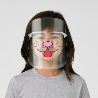 Cute Animal  Pet Face Face Shield