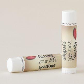 Kissing college life goodbye red lips DIY Lip Balm