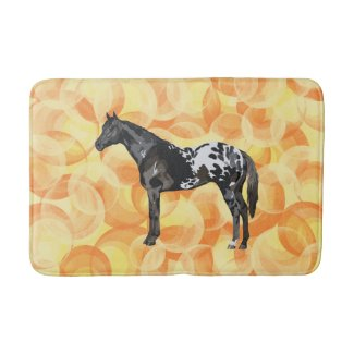 Favorite Horse Breed Bath Mat