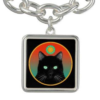Mysterious Black Cat Bracelet